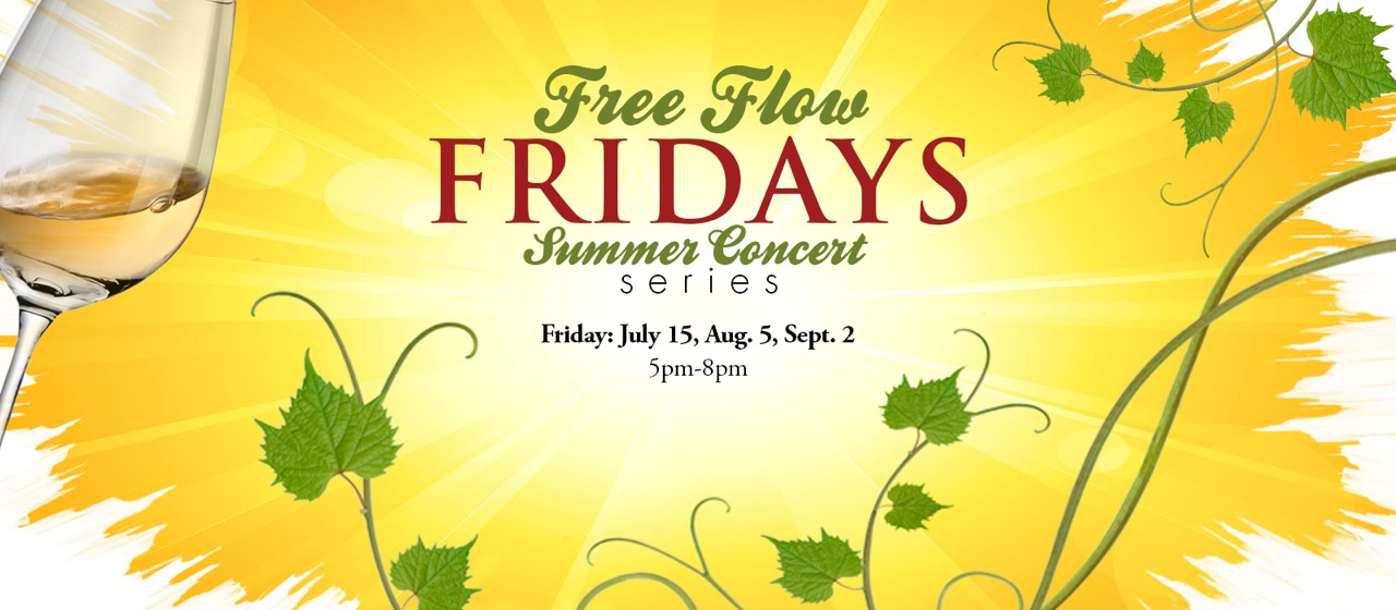 Free Flow Friday, winery, event