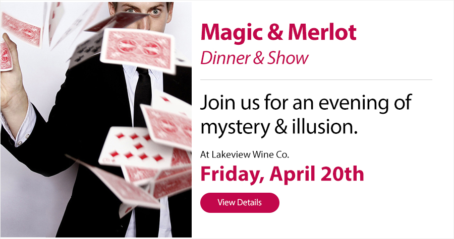 Magic & Merlot, Lakeview Wine Co.