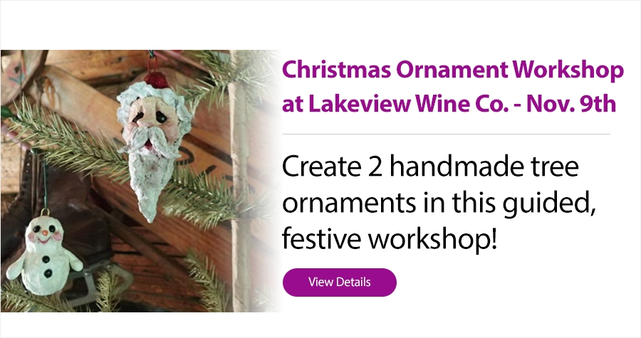 Christmas Ornament Workshop, Niagara, Events