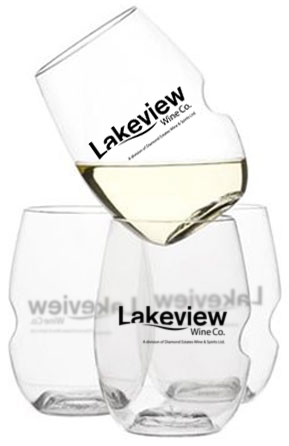GoVino Wine Glasses, Lakeview Wine Co Niagara